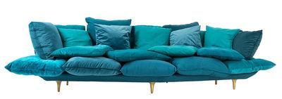 Comfy Sofa / L 300 cm - Seletti - Türkisblau