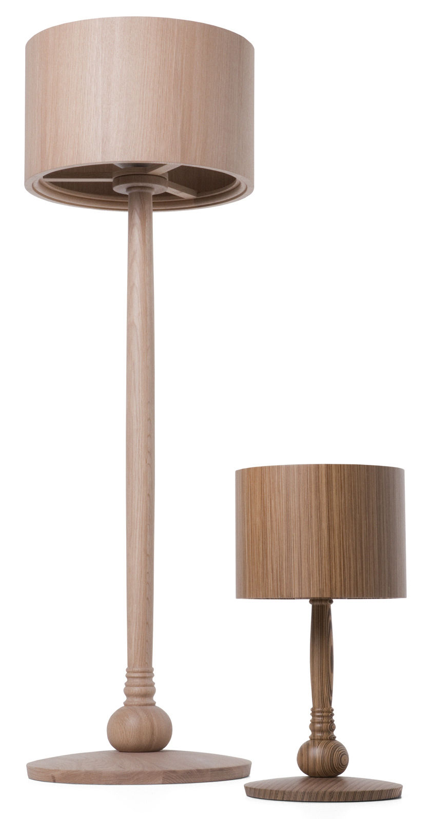 Lampe de table tree lamp ch ne teint jaune moooi for Lampe de table jaune