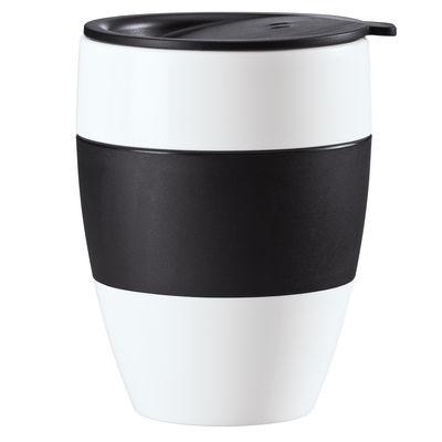 Gobelet Aroma to go isotherme avec couvercle - Koziol noir en matière plastique