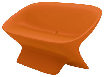 Sofà Ublo di Qui est Paul ? - Arancione - Materiale plastico