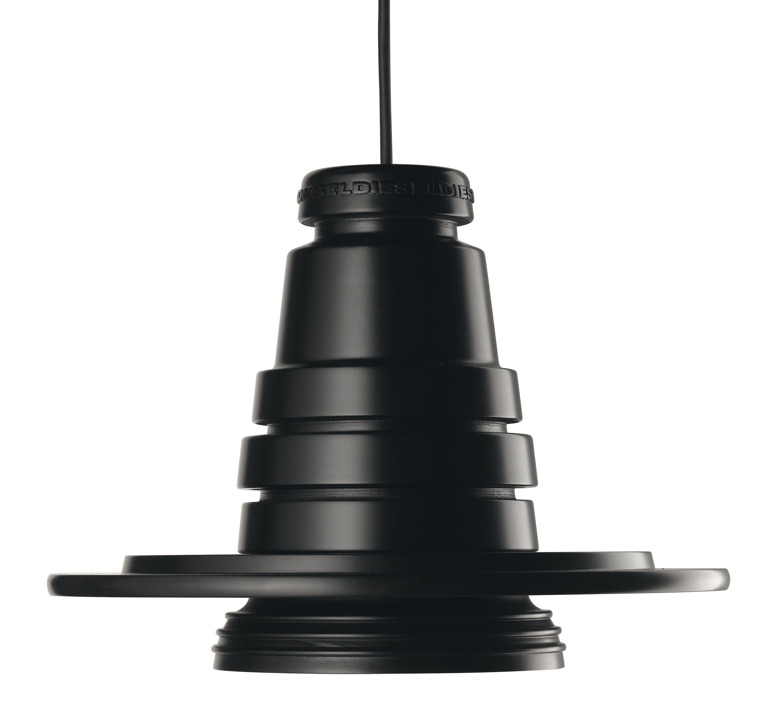 suspension tool 13 cm noir diesel with foscarini. Black Bedroom Furniture Sets. Home Design Ideas