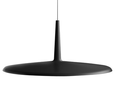 Luminaire - Suspensions - Suspension Skan LED / Ø 60 cm - Vibia - Graphite - Méthacrylate