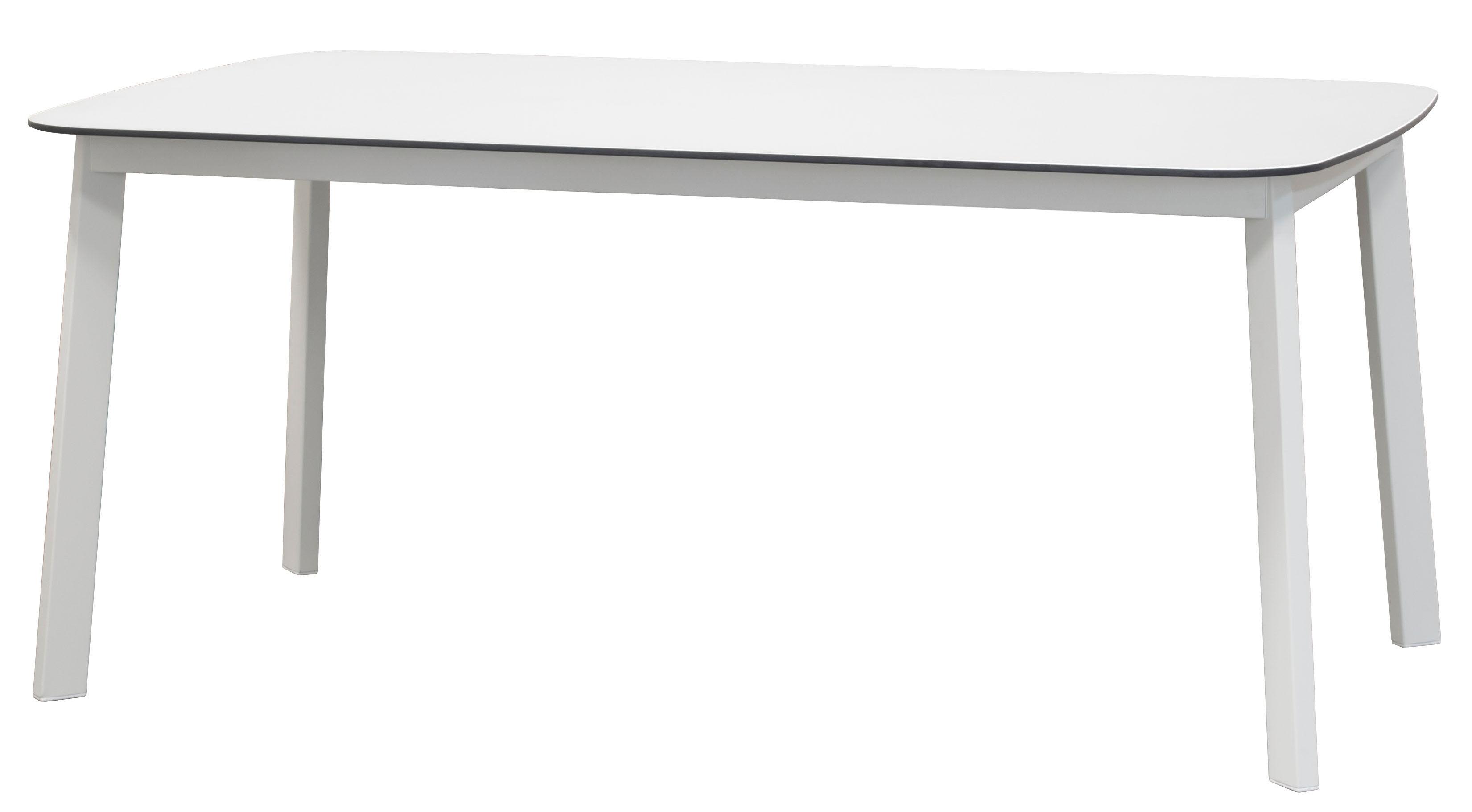 Scopri Tavolo Shine Piano Hpl 166 X 100 Cm Bianco