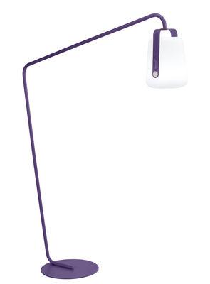 Pied pour lampes Balad / Large H 190 cm - Déporté - Fermob aubergine en métal