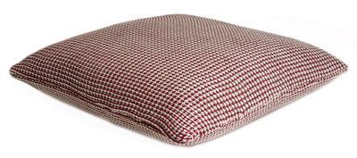 Coussin Roccamare / 45 x 45 cm - ENOstudio rouge marsala en tissu