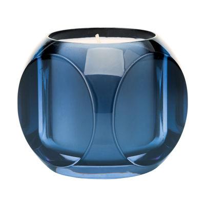 Bougie parfumée Dice / Kartell Fragrances - H 7,5 cm - Kartell bleu en matière plastique