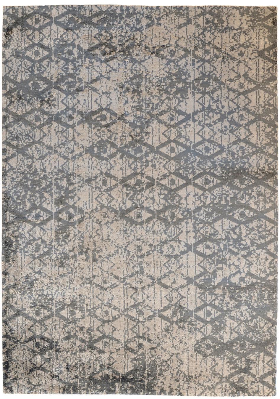 Tapis erase 170 x 240 cm tiss main gris toulemonde bochart - Made in design tapis ...