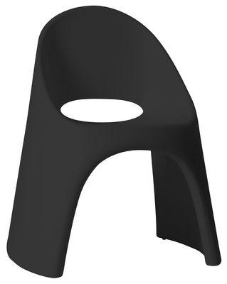Foto Poltrona impilabile Amélie di Slide - Nero - Materiale plastico