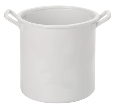 Saladier Estetico Quotidiano / Pot - Ø 22 x H 22 - Seletti blanc en céramique