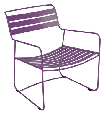 Surprising Lounger Lounge Sessel - Fermob - Aubergine