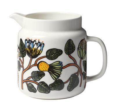 Arts de la table - Carafes et décanteurs - Carafe Tiara / 1,25 L - Marimekko - Tiara / Multicolore - Porcelaine