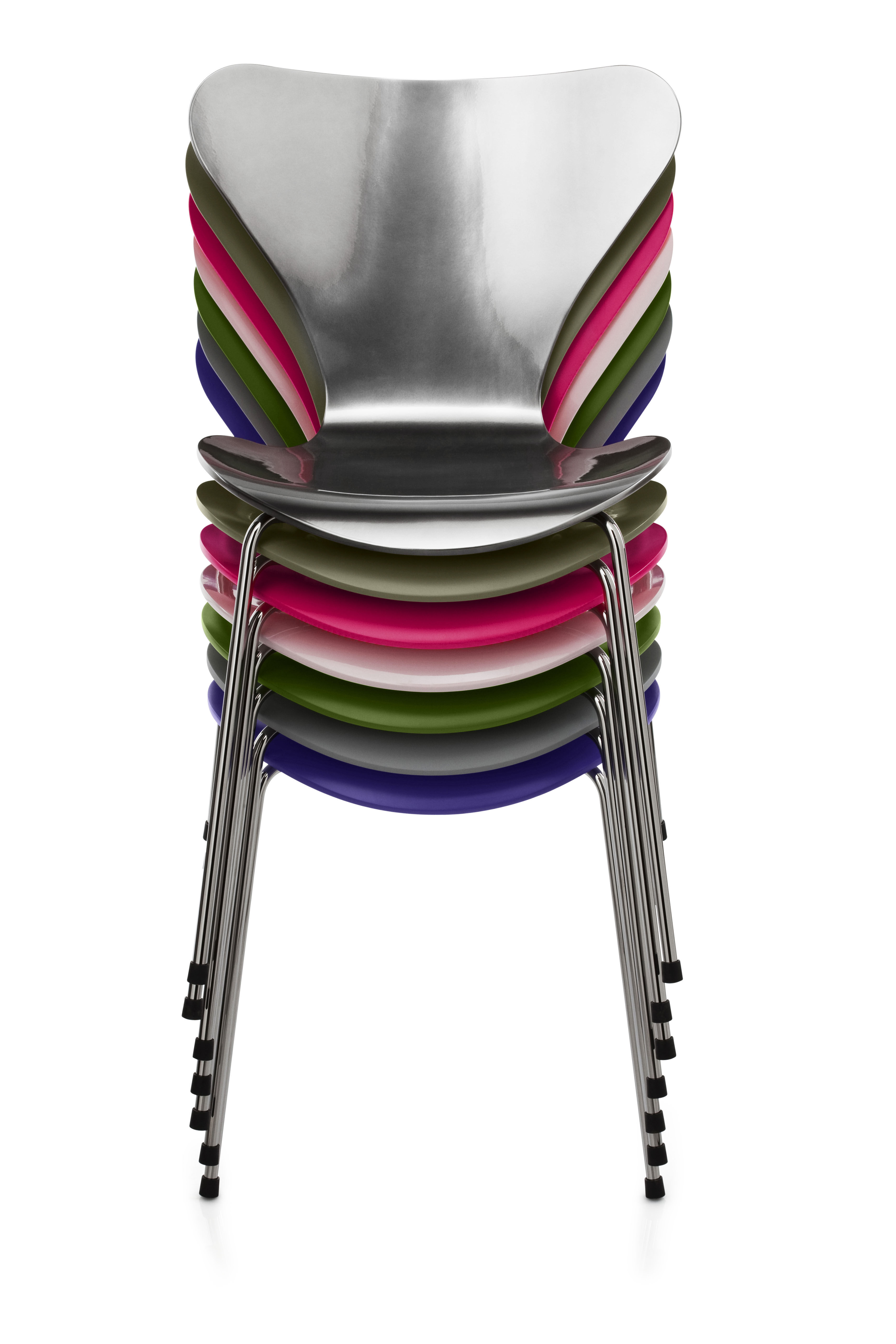 s rie 7 lackierte version exklusive farben fritz hansen stuhl. Black Bedroom Furniture Sets. Home Design Ideas