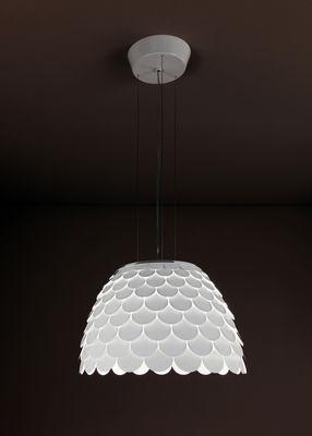 suspension carmen blanc fontana arte. Black Bedroom Furniture Sets. Home Design Ideas