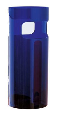 Foto Portaombrelli di Kartell - Azzurro trasparente - Materiale plastico