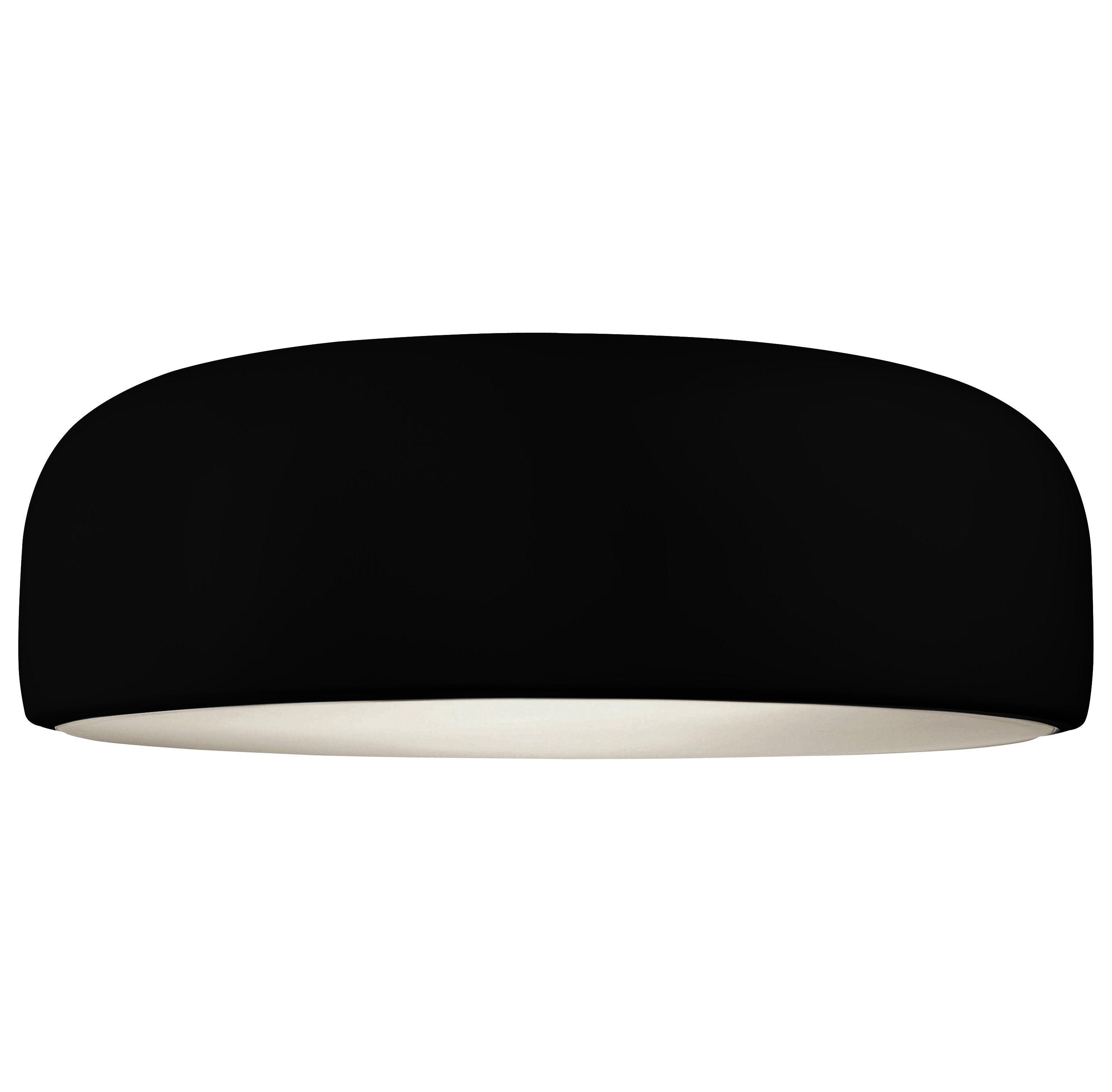 Plafonnier smithfield halog ne noir flos for Plafonnier noir