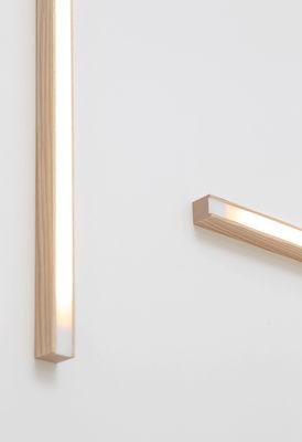 led40 wandleuchte deckenleuchte l 70 cm l 70 cm eiche by tunto made in design. Black Bedroom Furniture Sets. Home Design Ideas