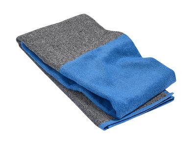 Drap de bain Compose / 140 x 70 cm - Hay gris,bleu ciel en tissu