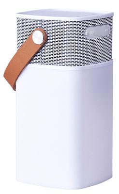 Enceinte Bluetooth aGlow Lampe de table Portable Kreafunk blanc en matière plastique
