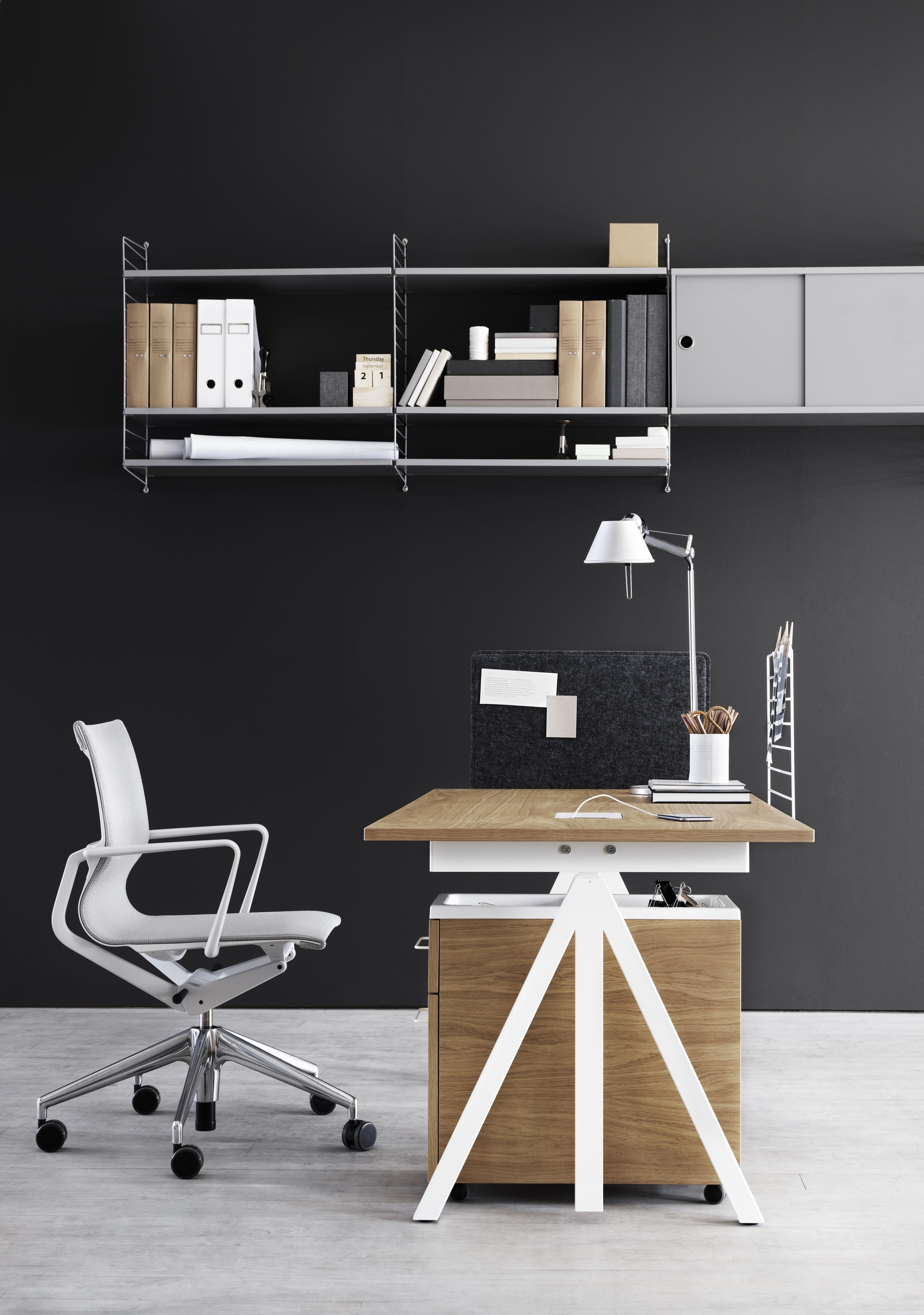 ecran string works pour bureau ecran blanc string furniture. Black Bedroom Furniture Sets. Home Design Ideas