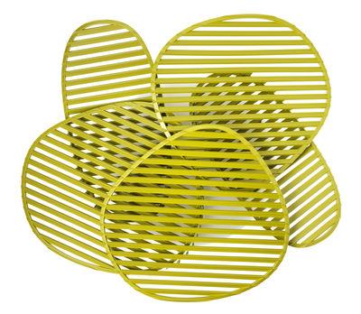 Foto Applique Nuage - / Plafoniera - L 63 x H 54 cm di Foscarini - Verde - Materiale plastico