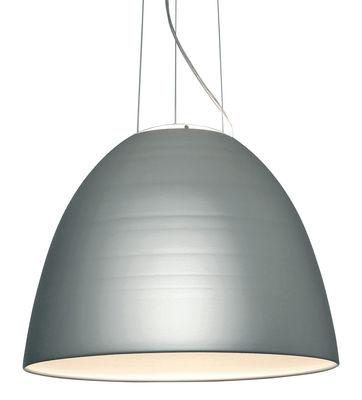 Luminaire - Suspensions - Suspension Nur LED / Ø 55 cm - Artemide - Aluminium anodisé - Aluminium, Verre