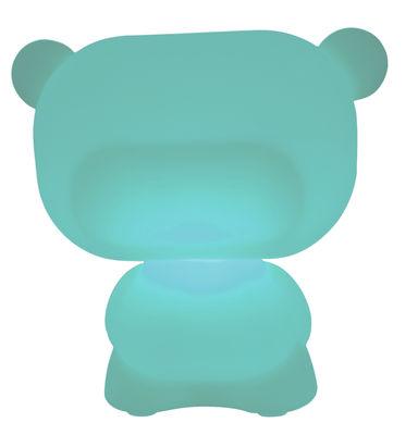 Foto Lampada da tavolo Pure di Slide - Blu - Materiale plastico
