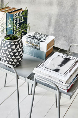 bo te storage book set 3 bo tes livres tissu multicolore house doctor. Black Bedroom Furniture Sets. Home Design Ideas