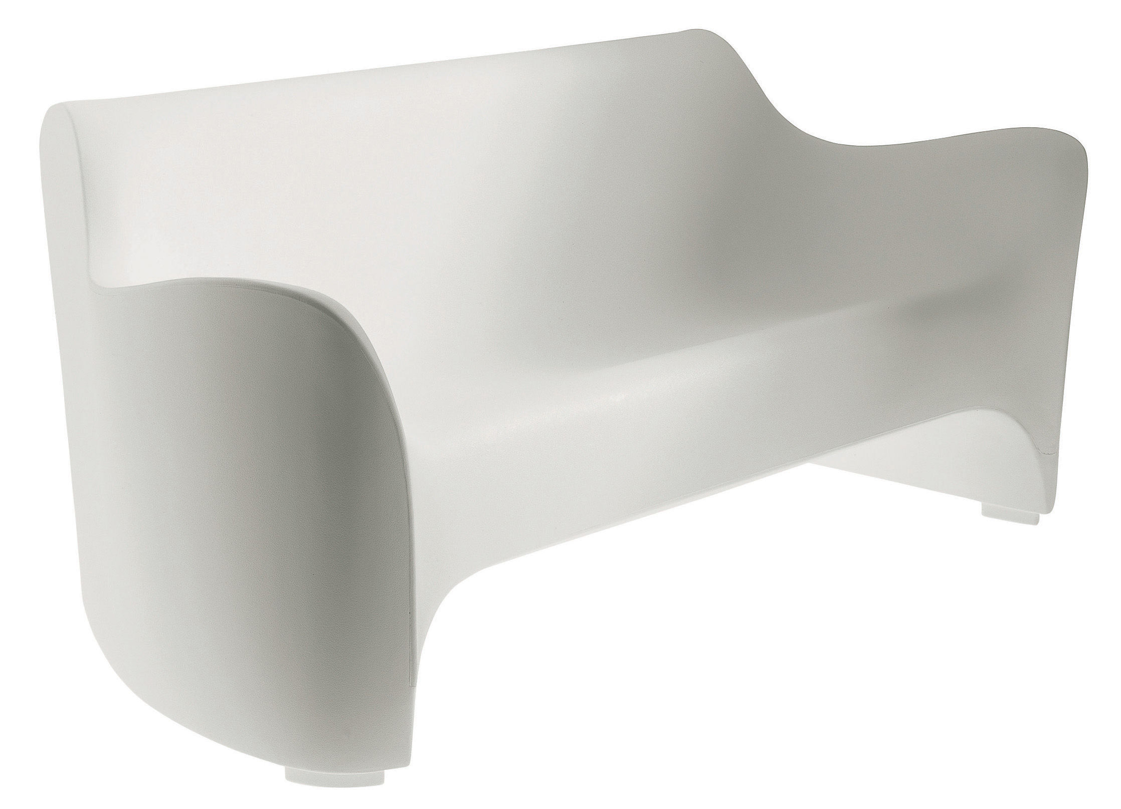 Tokyo pop straight sofa white by driade for Canape d exterieur