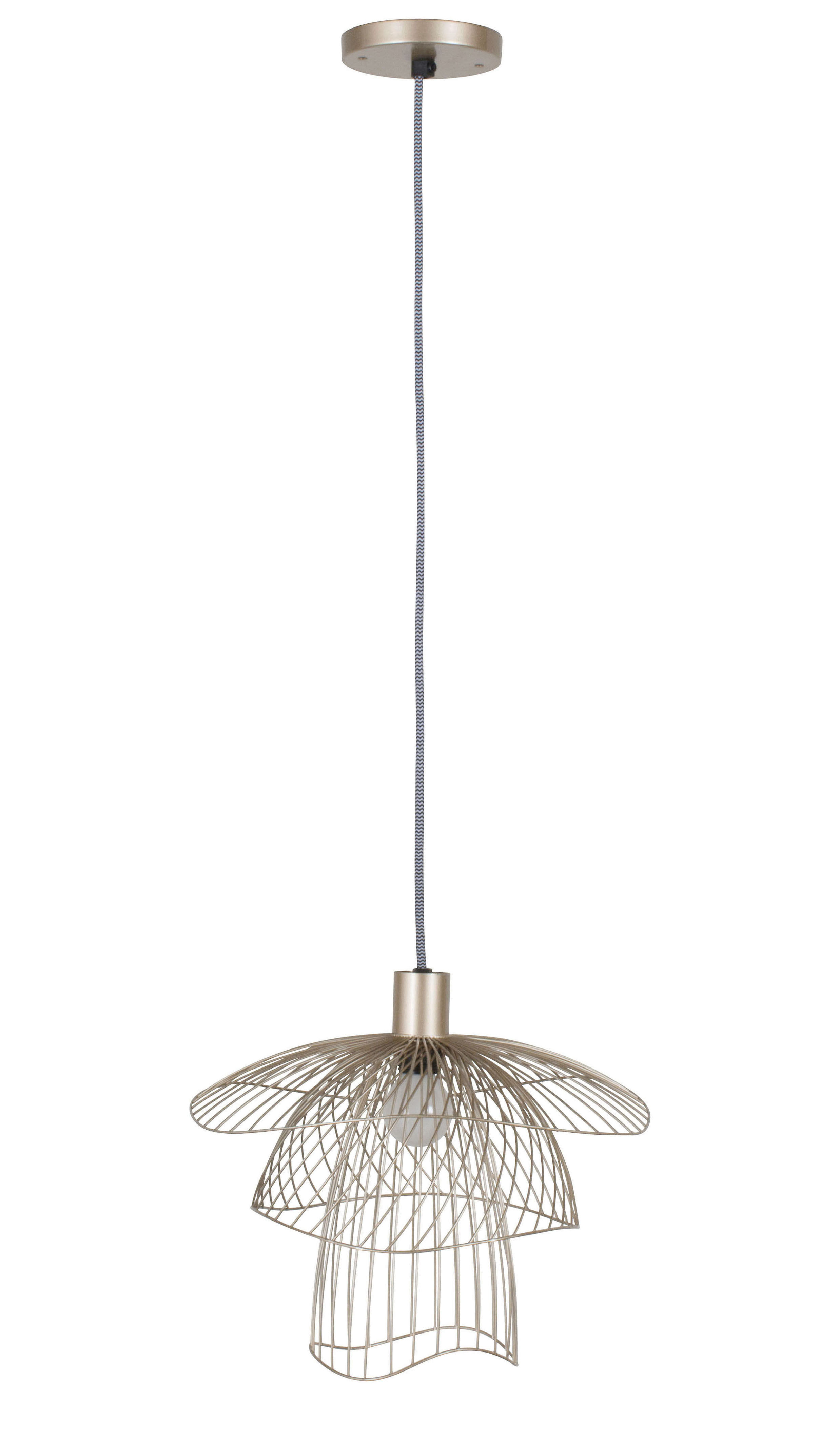 suspension papillon xs 30 cm champagne forestier. Black Bedroom Furniture Sets. Home Design Ideas