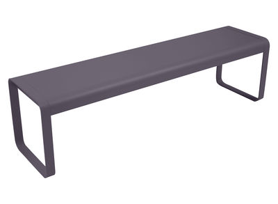 Banc Bellevie / L 161 cm - 4 places - Fermob prune en métal