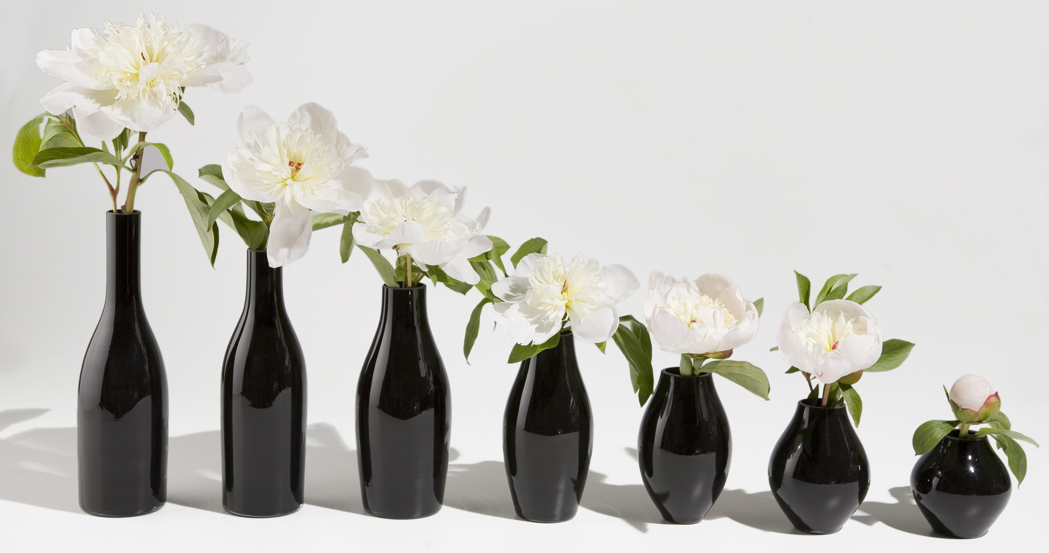 Vase Vase des 7 nuits lot de 7 Noir - Tsé-Tsé | Made In Design