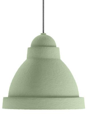 Luminaire - Suspensions - Suspension Salago Large / Ø 75 - Papier - Moooi - Vert - Acrylique, Papier mâché