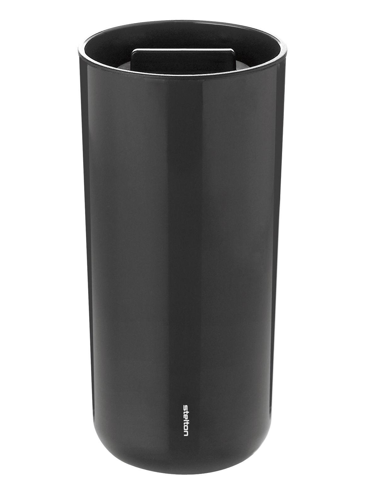 mug isotherme to go 2 0 couvercle 40 cl noir stelton. Black Bedroom Furniture Sets. Home Design Ideas
