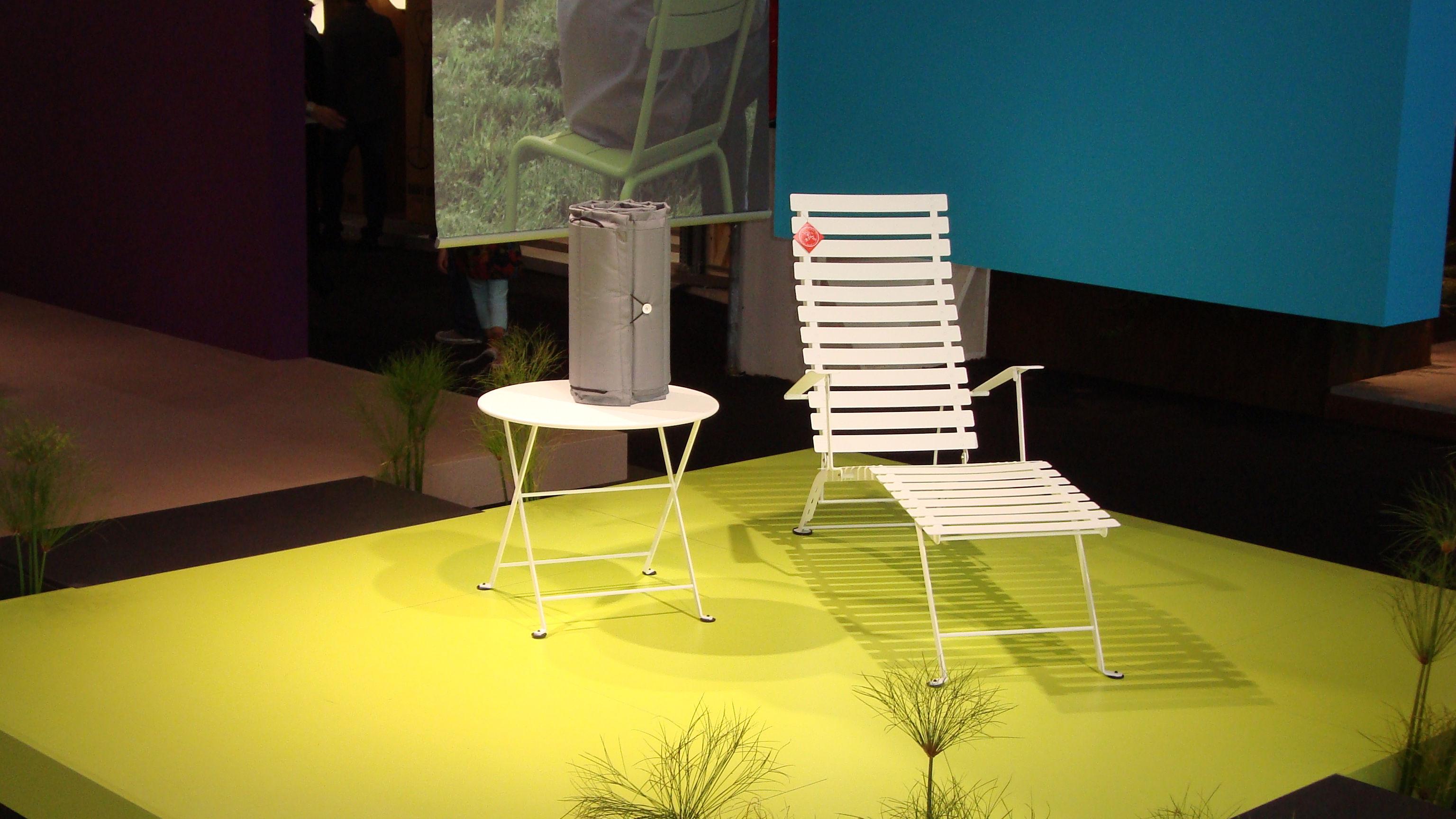 coussin pour chaise longue bistro l 171 cm gris fermob. Black Bedroom Furniture Sets. Home Design Ideas