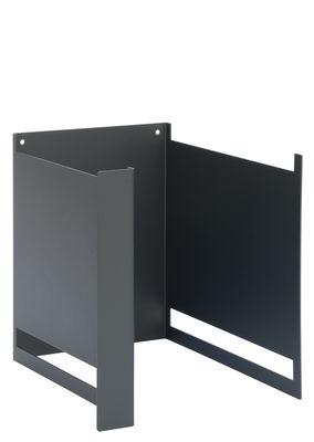 Montant Plio Ba / H 24 cm - Pour fabriquer une étagère - Presse citron gris ardoise en métal