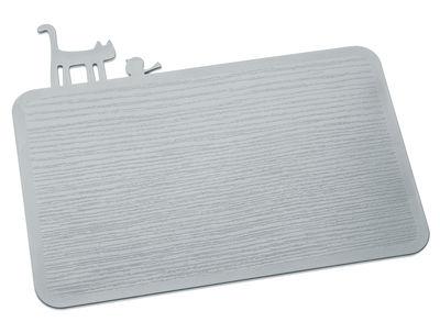 Cuisine - Ustensiles de cuisines - Planche à découper PI:P - Koziol - Gris froid opaque - Matière plastique