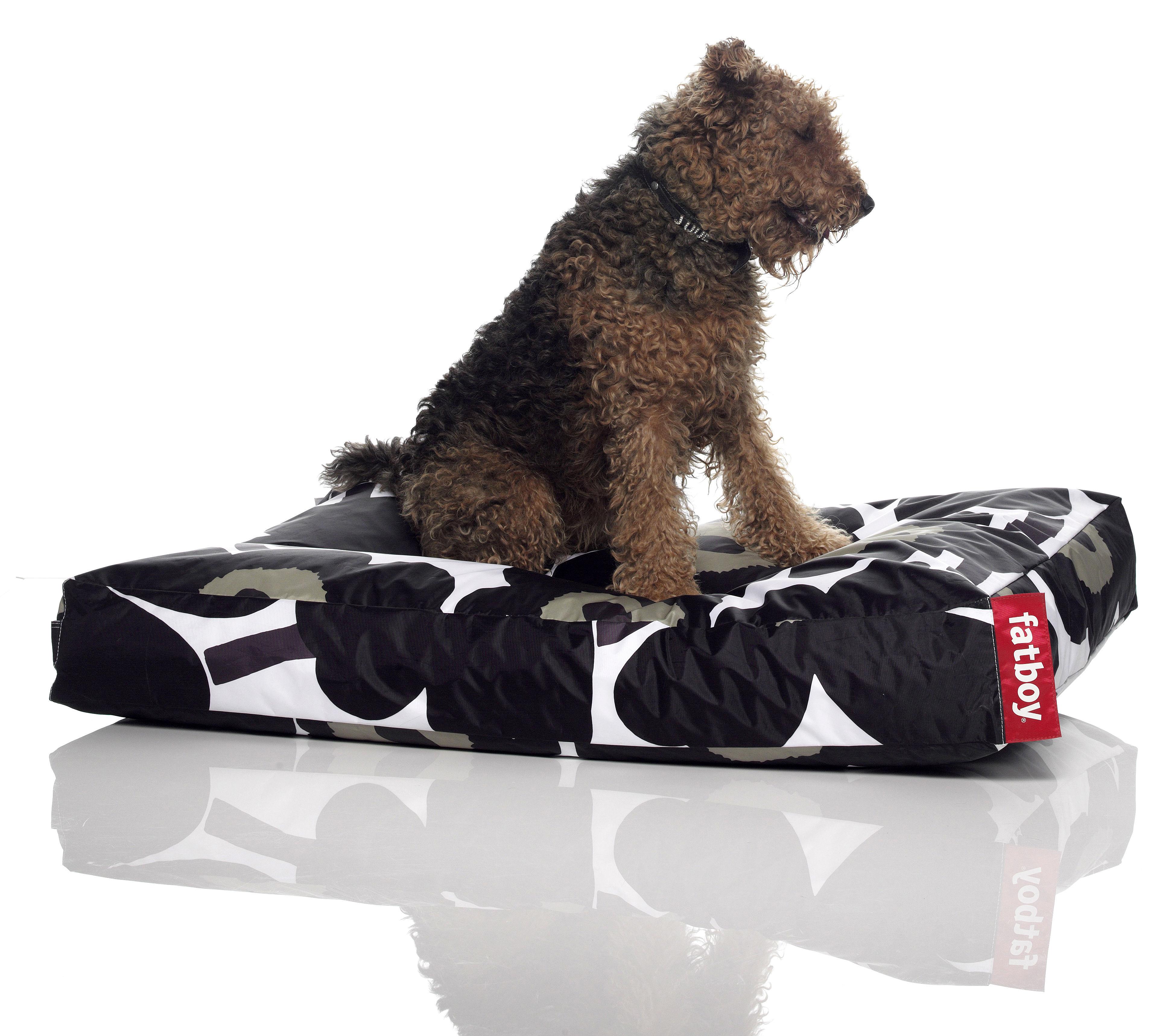 pouf doggielounge marimekko pour chien large unikko noir fatboy. Black Bedroom Furniture Sets. Home Design Ideas
