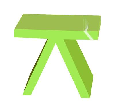Toy Beistelltisch lackiert - Slide - Lack-Grün