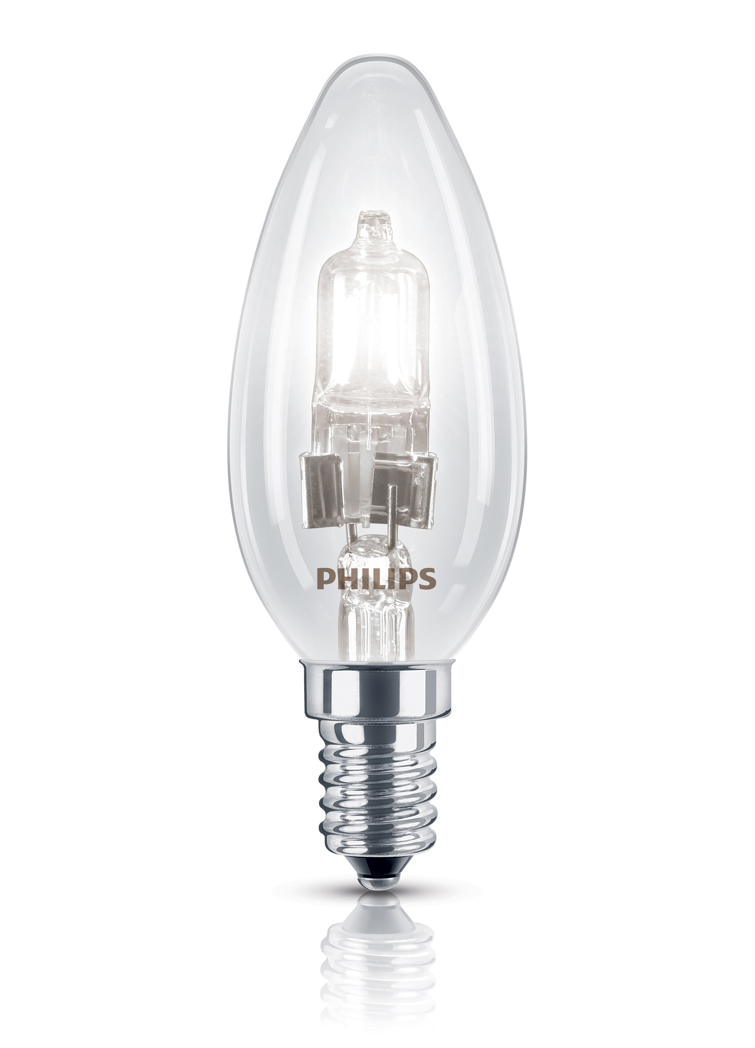 ecoclassic flamme eco halogen e14 bulb 28w 35w 370 lumen 28w 35w by philips made in. Black Bedroom Furniture Sets. Home Design Ideas