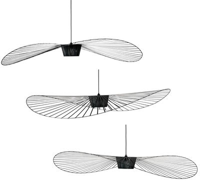 Lighting pendant lighting vertigo pendant ø 200 cm by petite friture black