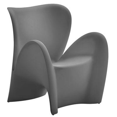 Poltrona Lily di MyYour - Antracite opaco - Materiale plastico