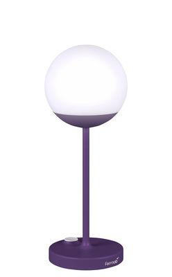Mooon! LED Lampe ohne Kabel / H 41 cm - mit USB-Ladekabel - Fermob - Aubergine