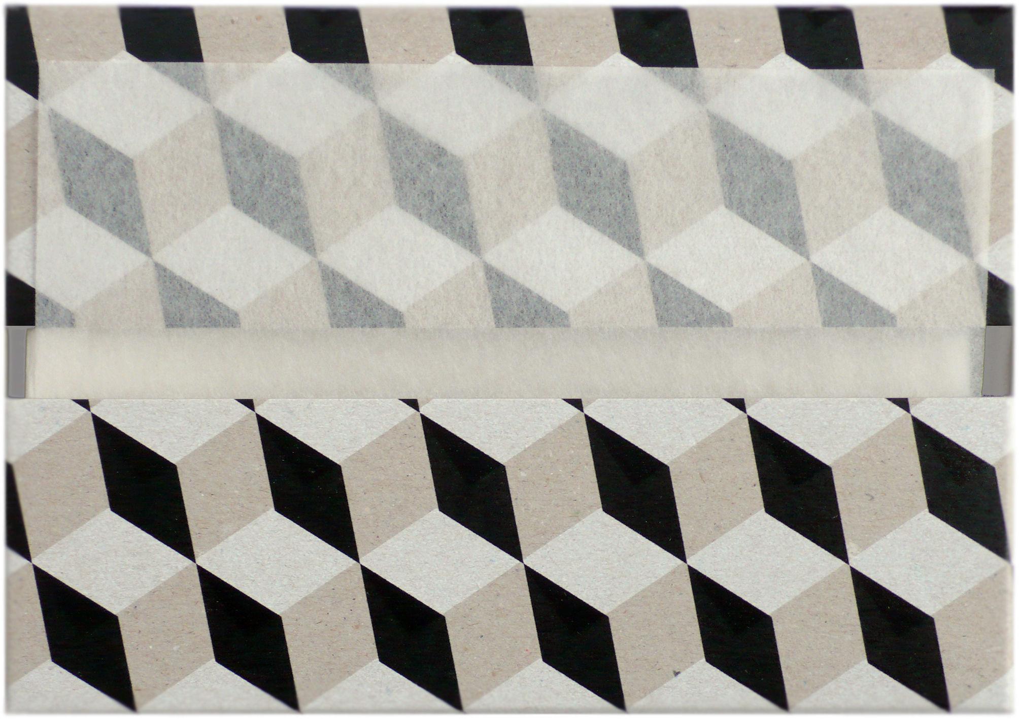 serviettes en papier les g om triques n 1 lot de 80 avec tui rechargeable bo te motifs. Black Bedroom Furniture Sets. Home Design Ideas