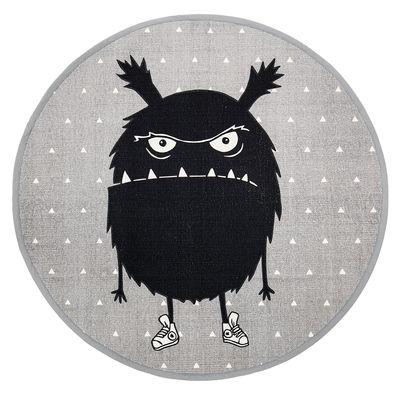 Déco - Pour les enfants - Tapis Monstre / Coton - Ø 100 cm - Bloomingville - Ø 100 cm / Monstre - Coton