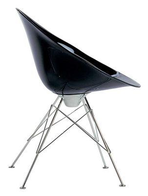 Ero/S/ Sessel Opak - mit 4 Füßen - Kartell - Opakschwarz