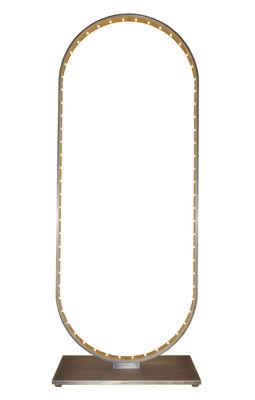 Luminaire - Lampes de table - Lampe de table Oval / LED - H 55 cm - Le Deun - Bronze brossé - Acier