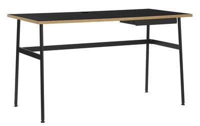 Bureau Journal / 1 tiroir - Normann Copenhagen noir en bois