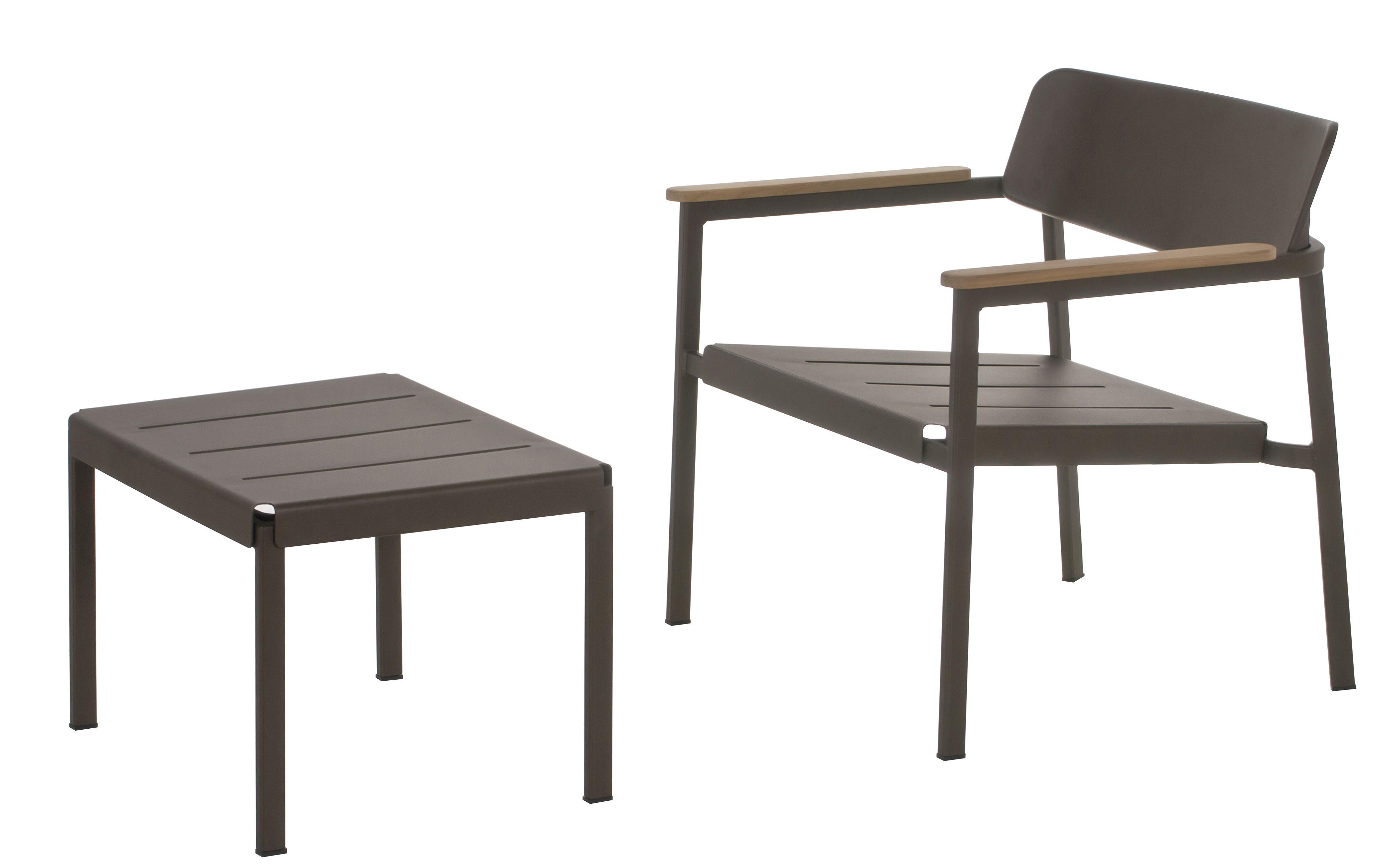 pouf shine table basse 60 x 44 cm jaune moutarde emu. Black Bedroom Furniture Sets. Home Design Ideas