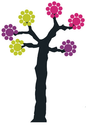 Decoration - Stickers and wallpapers - Arbre à pastilles Sticker by Domestic -  - Vinal