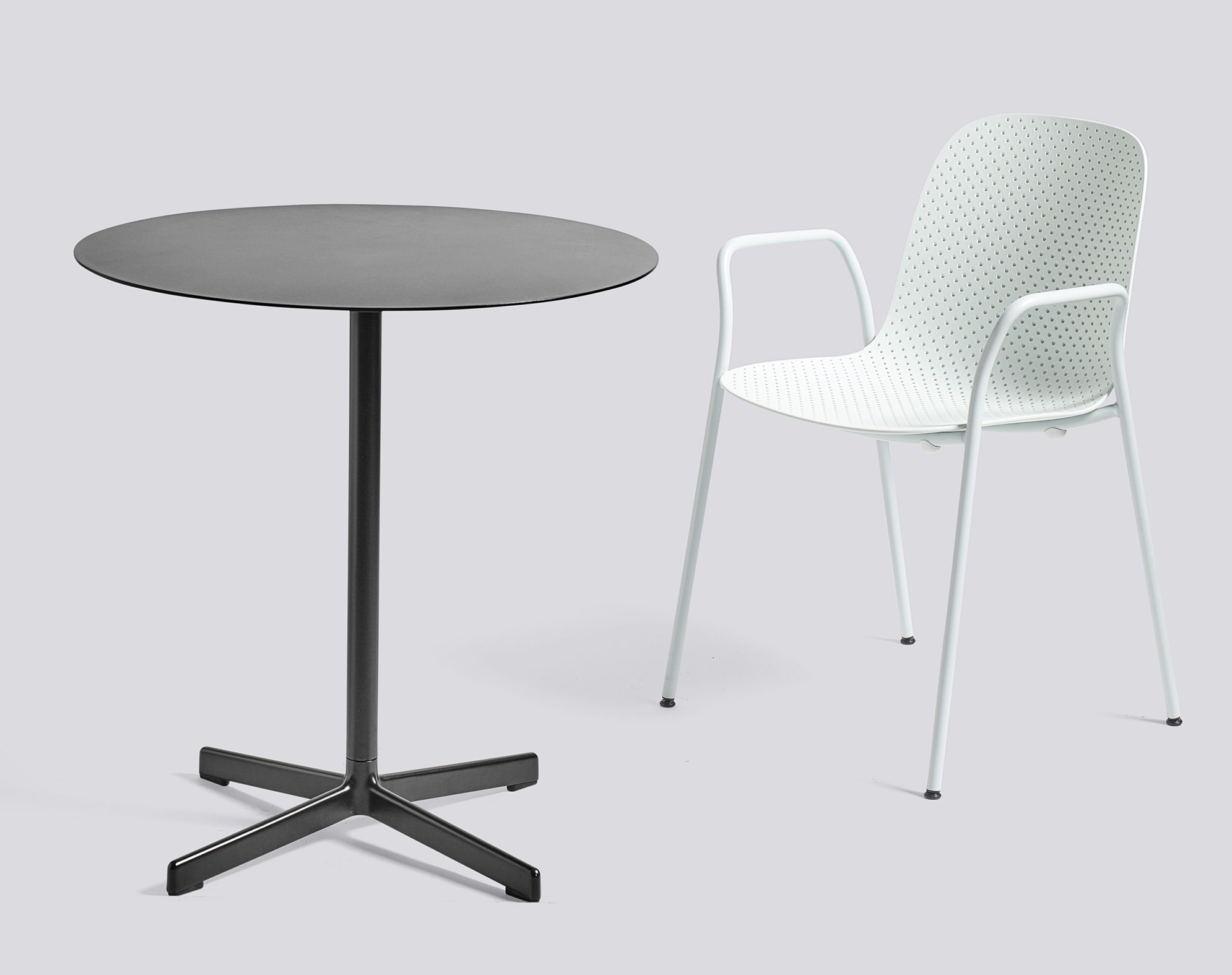neu table 70 cm charcoal by hay made in design uk. Black Bedroom Furniture Sets. Home Design Ideas